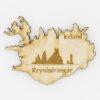 Viðarsegull – Reynisdrangar, Vík Ísland