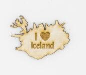 Viðarsegull – I ♥ Iceland