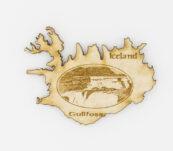 Viðarsegull – Gullfoss, Ísland