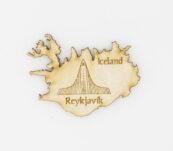 Viðasegull – Reykjavik Hallgrímskirkja Iceland