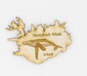 Viðarsegull Hvalur – Humpback Whale