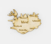 Viðarsegull -Staðir á Íslandi