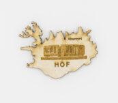 Viðarsegull -HOF Akureyri